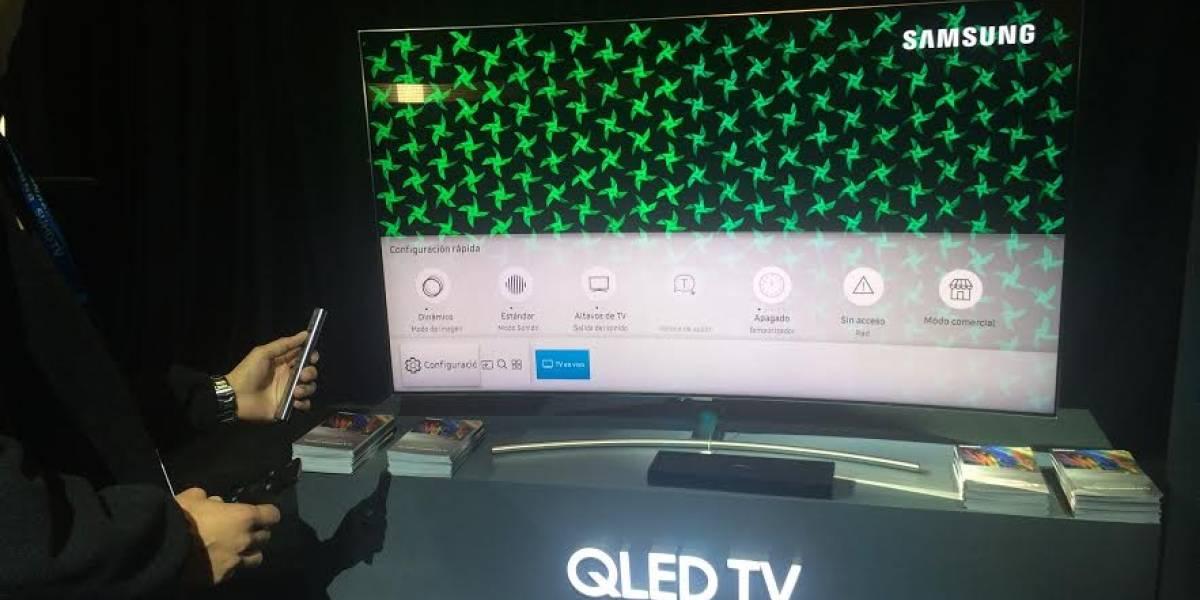 Samsung lanza nuevos televisores QLED TV en Chile