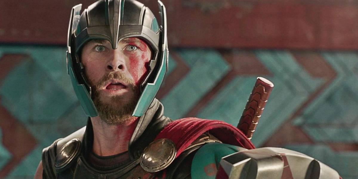 Así se ve Thor: Ragnarok sin efectos visuales