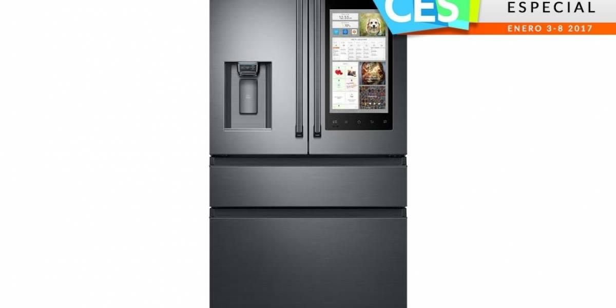 Samsung presenta Family Hub 2.0 y más electrodomésticos inteligentes en #CES2017