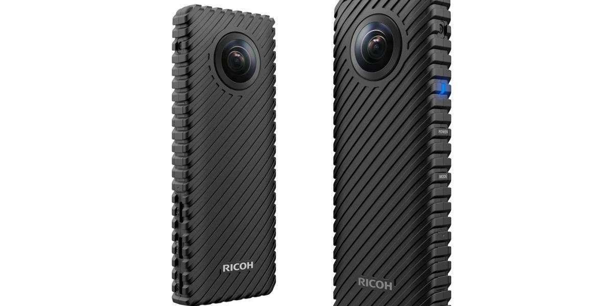 Nueva webcam de Ricoh puede transmitir vía streaming en 360° #MWC17