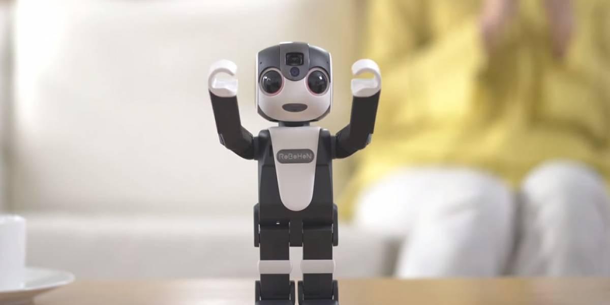 RoboHon de Sharp es el teléfono más genial que tendrás en tu casa