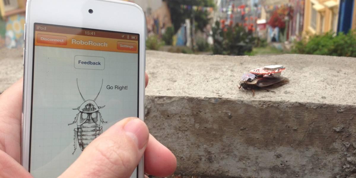 RoboRoach trae cucarachas a control remoto a tu hogar, vía Kickstarter