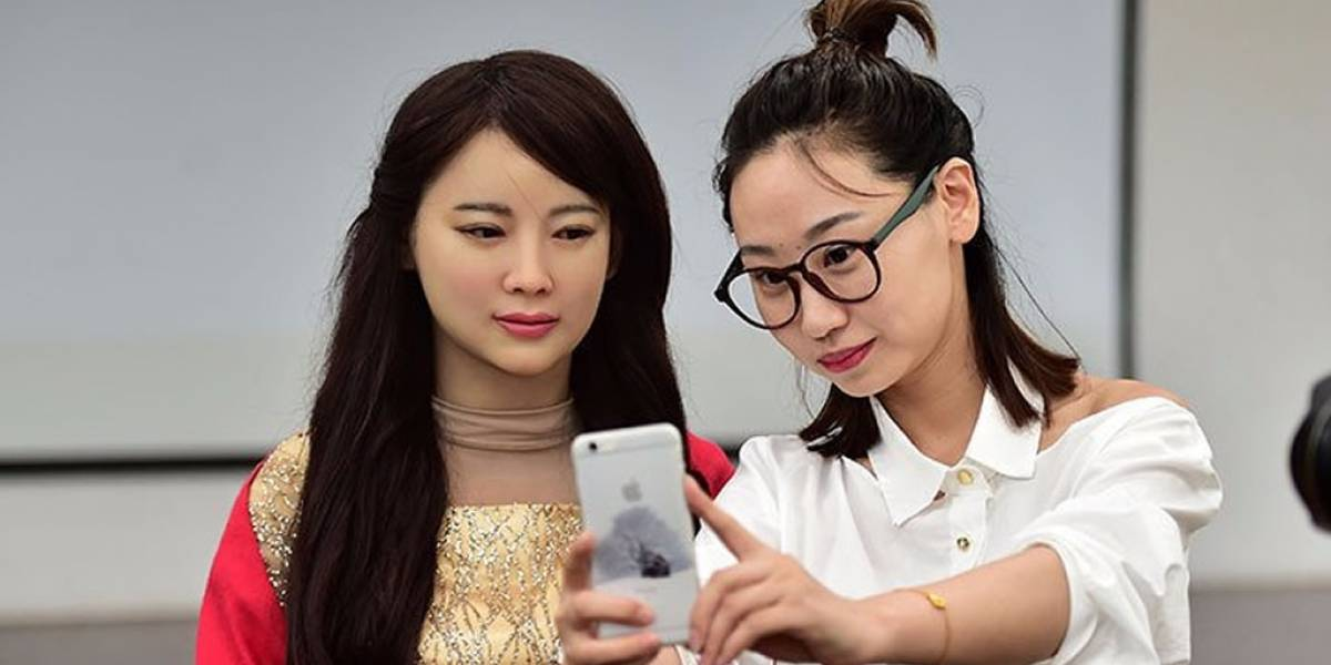 Jia Jia, la impresionante robot china capaz de conversar con humanos