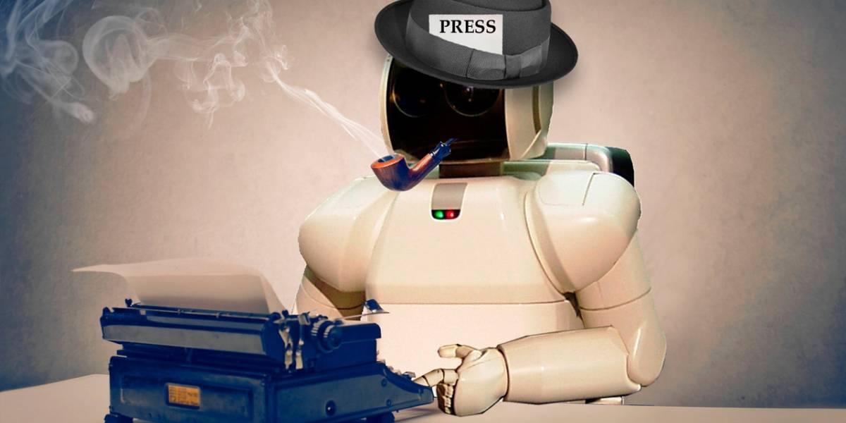 Científicos quieren que robots escriban noticias