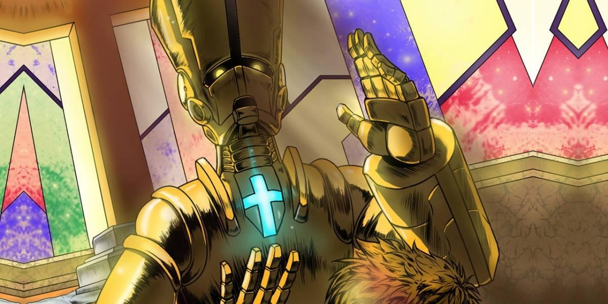 Japoneses usan robots para sustituir a sacerdotes en funerales