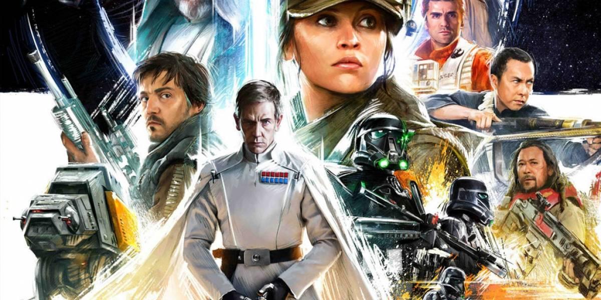 George Lucas ya vio el corte final de Rogue One y le gustó