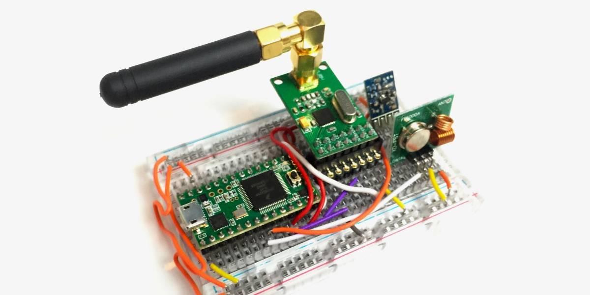 Este gadget puede abrir autos y puertas con sistemas inalámbricos, hackeando los códigos de seguridad