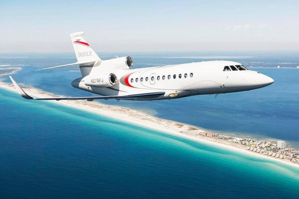 6º - Wayne Rooney tem um Dassault Falcon 900LX avaliado em 15,8 milhões euros Divulgação