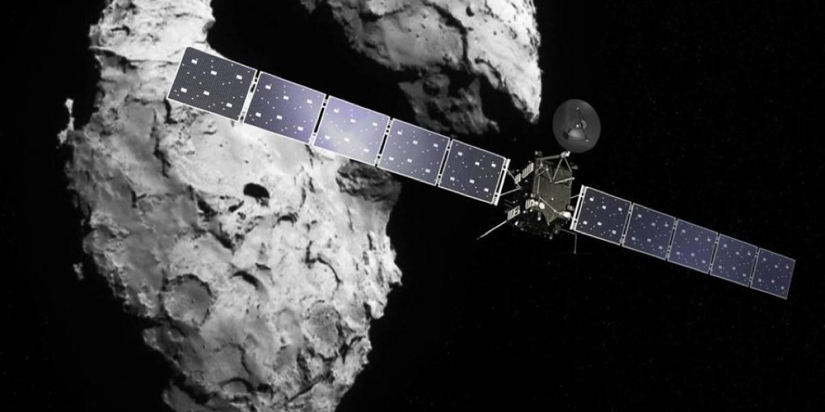 Sonda Rosetta descubre la relación que tienen los meteoritos con la atmósfera terrestre
