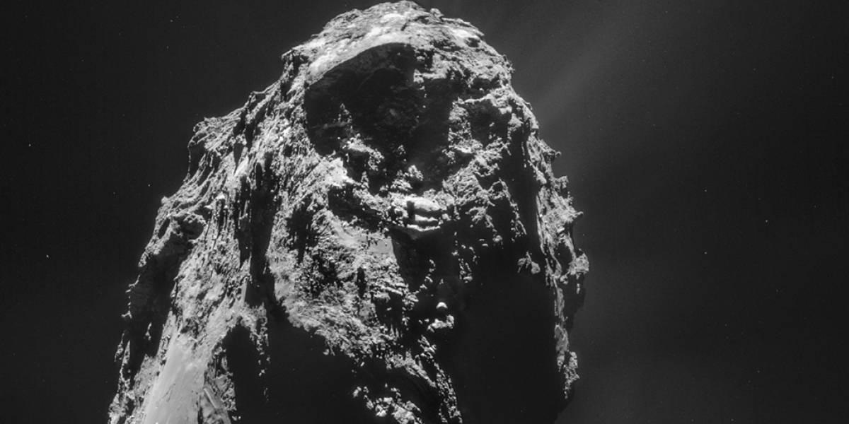 Sonda Rosetta descubre ingredientes de la vida en el cometa 67P