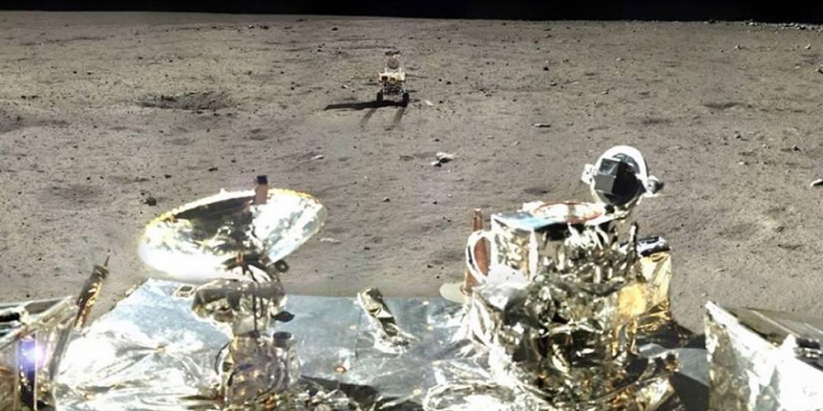 """Declaran como """"muerto"""" en la Luna al rover chino Yutu"""