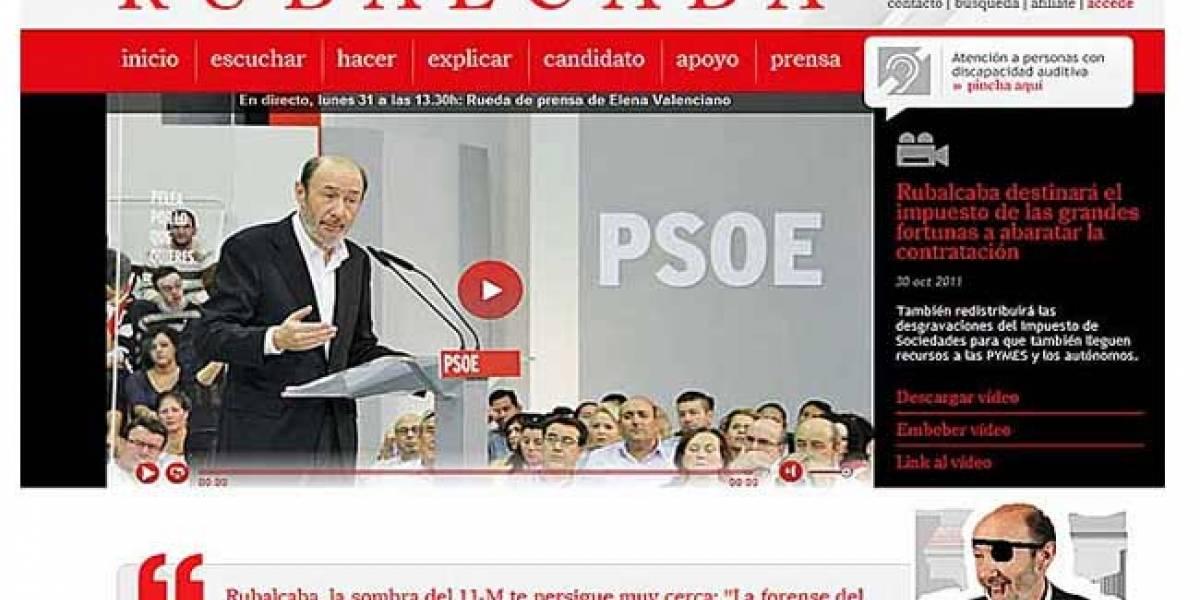 España: Anonymous ataca la web de Rubalcaba