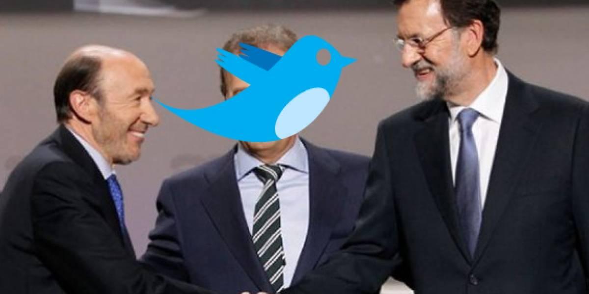 Twitter acapara los comentarios de las elecciones del #20N en España