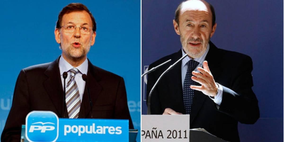 España: Rajoy VS Rubalcaba se podrá seguir en vivo desde YouTube