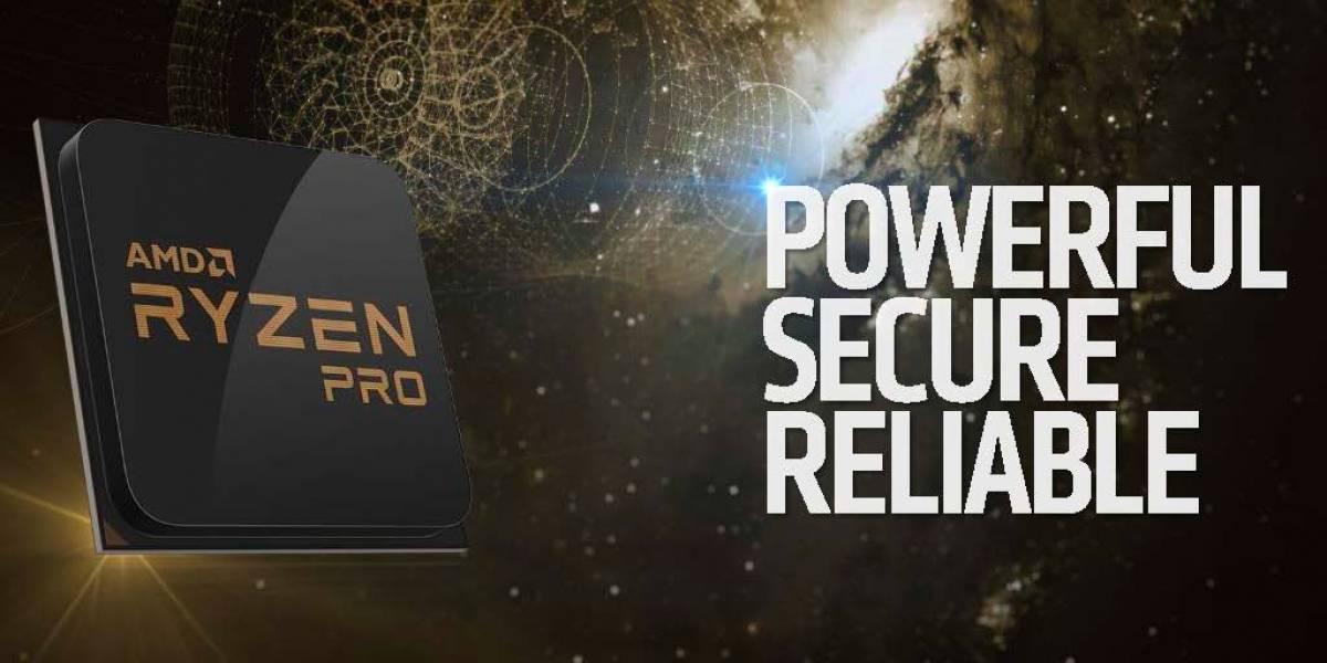 AMD lanza sus nuevos procesadores Ryzen Pro
