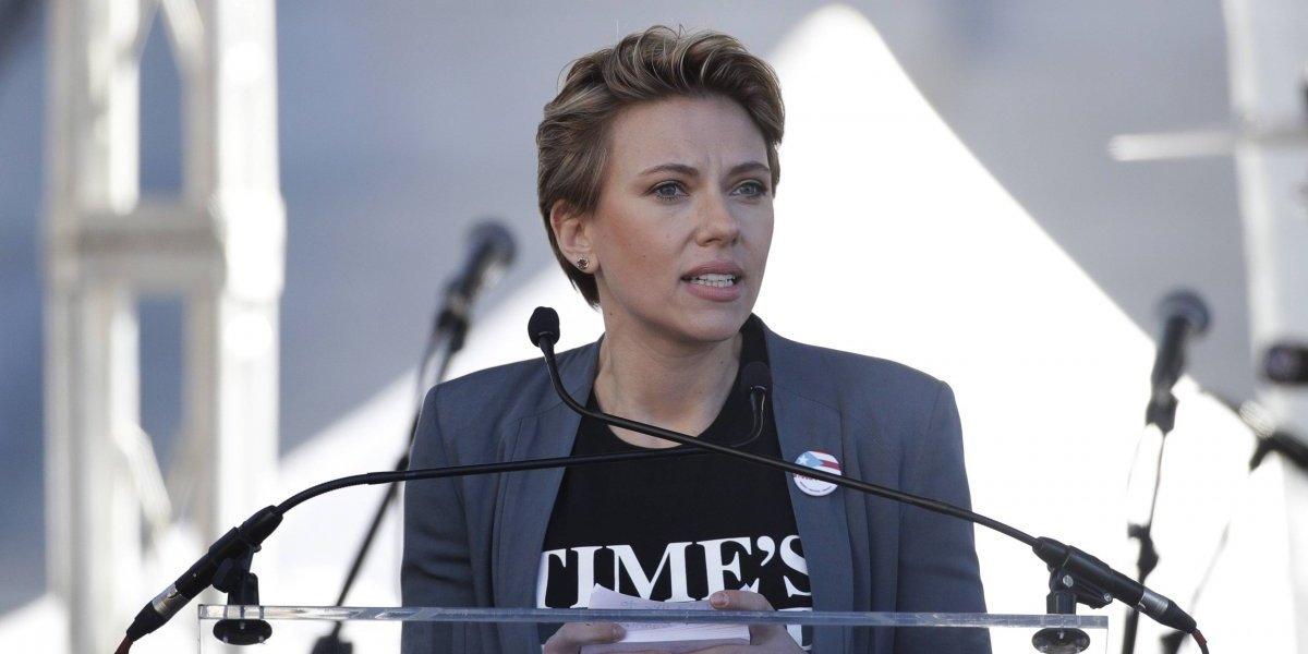 Scarlett Johansson envió mensaje contra James Franco