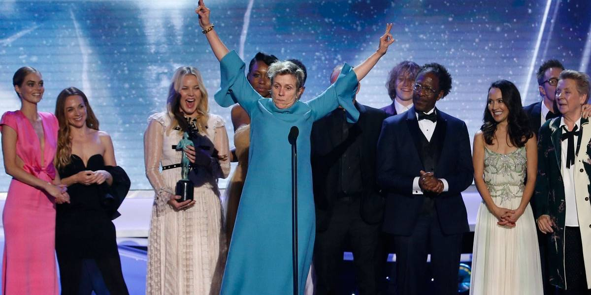 SAG Awards: Três Anúncios para um Crime leva três prêmios; confira lista de vencedores
