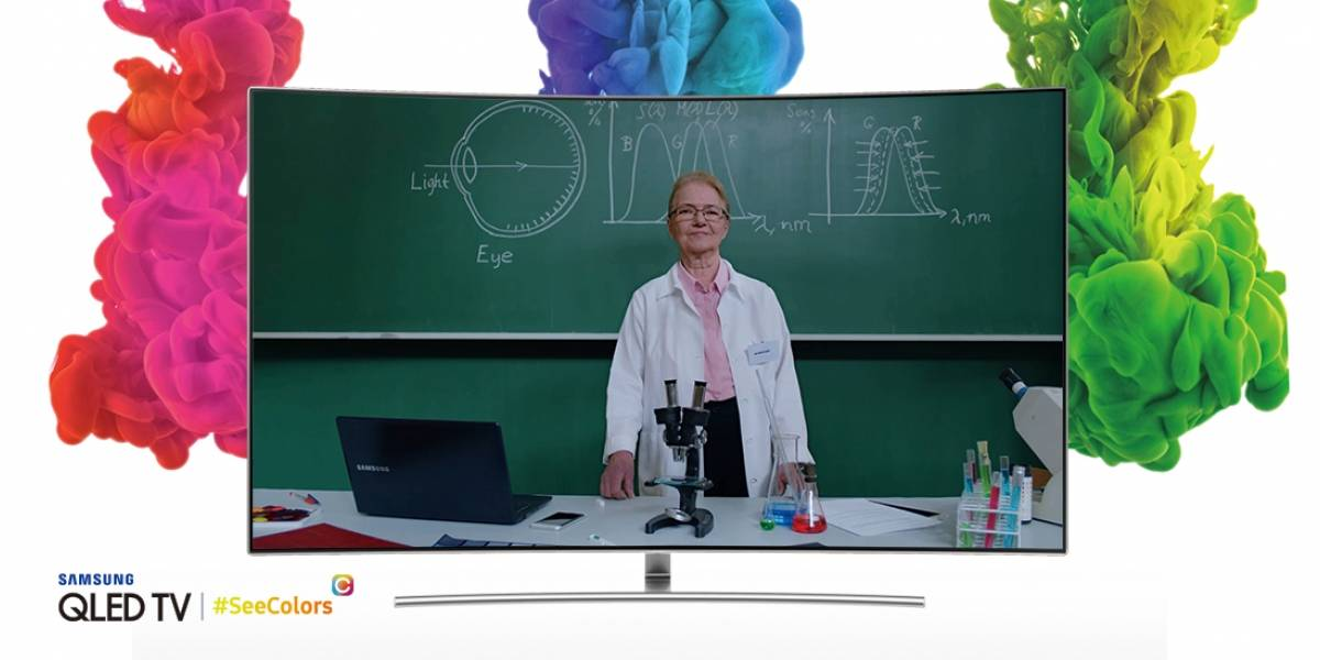 Samsung permitirá que personas con daltonismo calibren sus televisores
