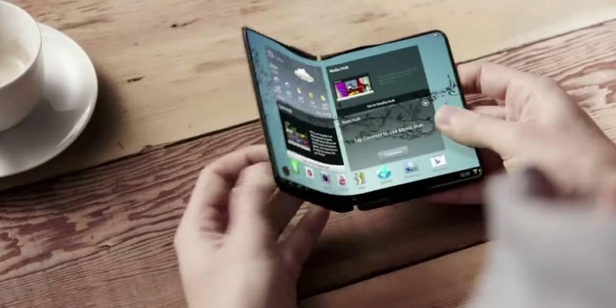 Esta patente sugiere que Samsung también lanzaría una tablet plegable