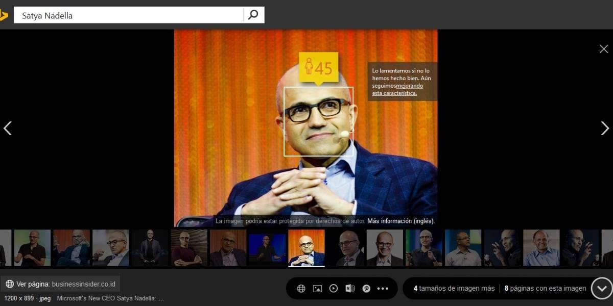 Ahora puedes adivinar la edad de personas buscándolas en Bing Images