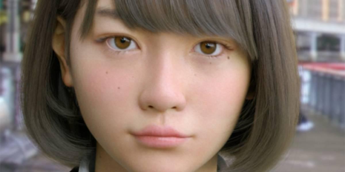 Impresionante escolar japonesa creada en CGI recibe su primera animación