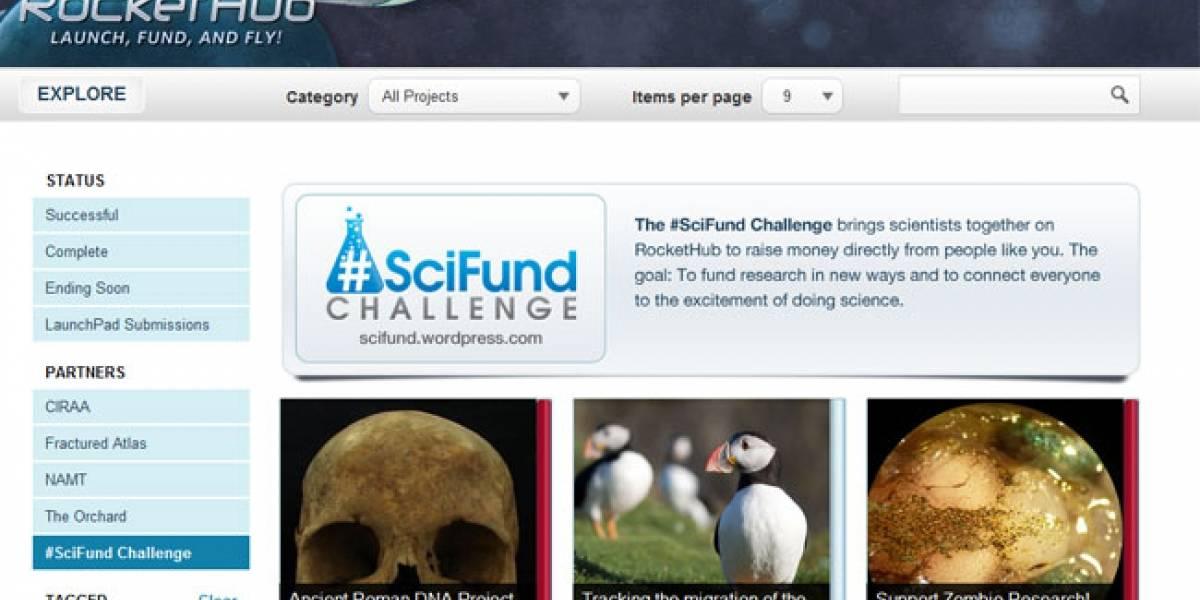 SciFund: Científicos españoles buscan financiamiento de particulares en la Red