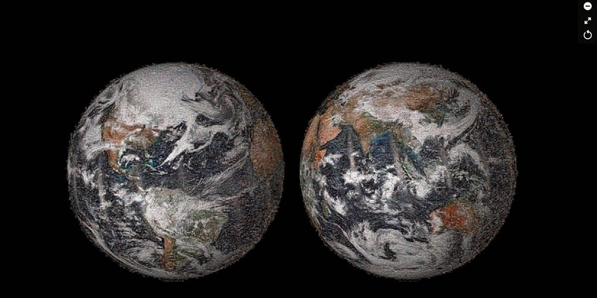 El mundo en un selfie, cortesía de la NASA