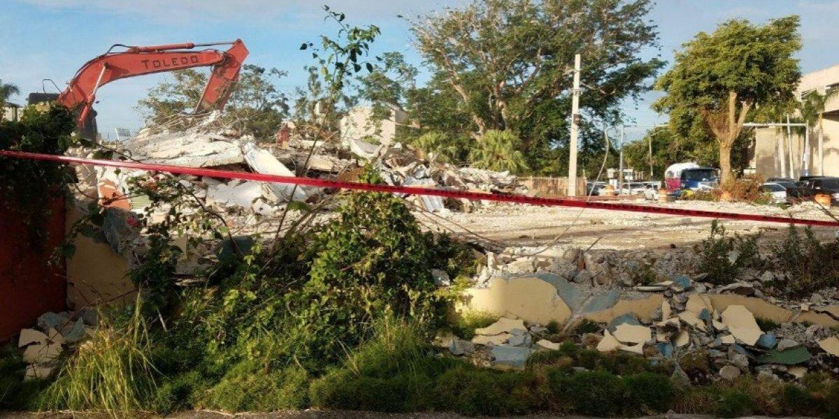 Terminan de demoler icónico restaurante El Zipperle