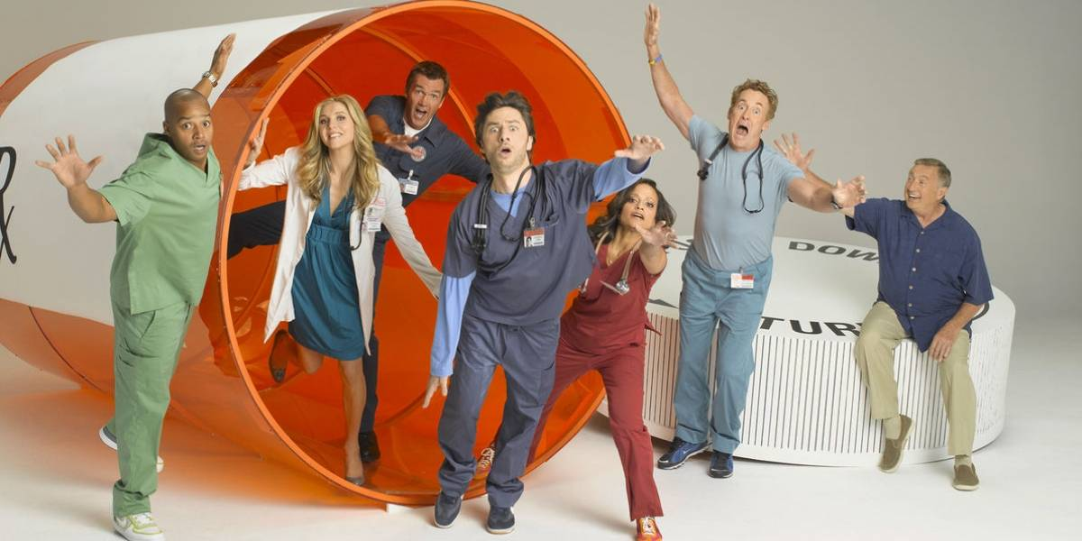 Zach Braff lee final alternativo de Scrubs escrito por inteligencia artificial