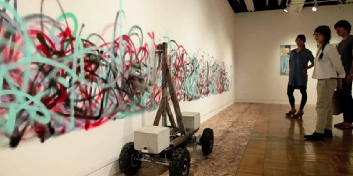 Un robot artista contemporáneo