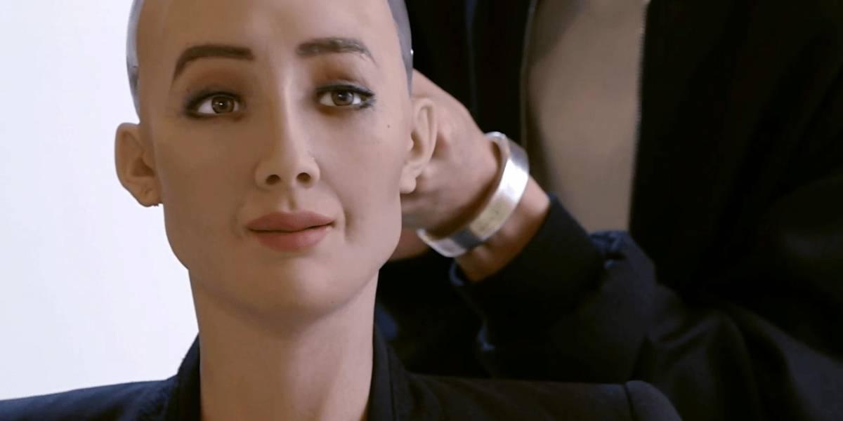 Sophia, la robot humanoide, quiere tener un bebé