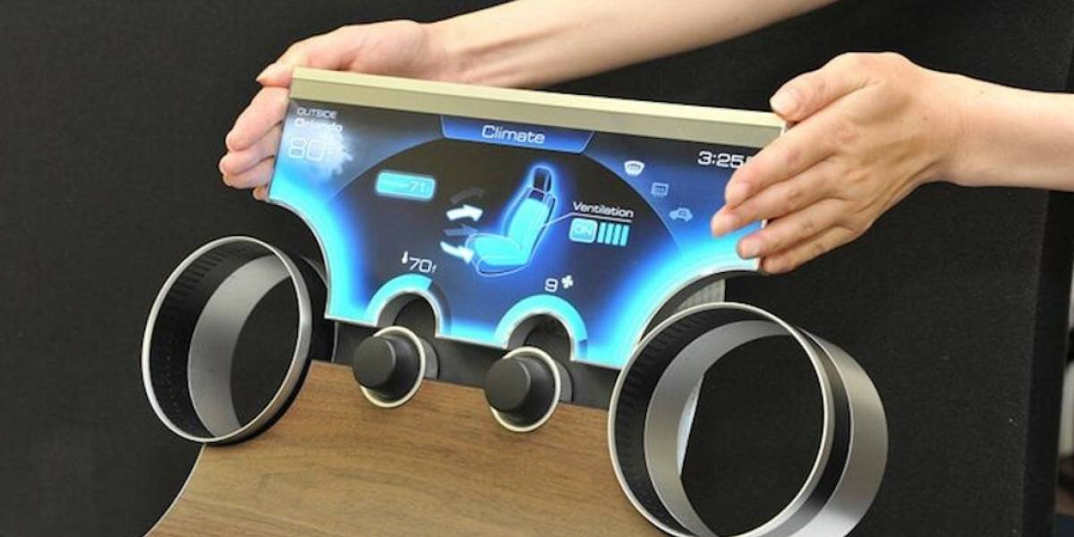 Sharp desarrolló tecnología para fabricar pantallas de cualquier forma