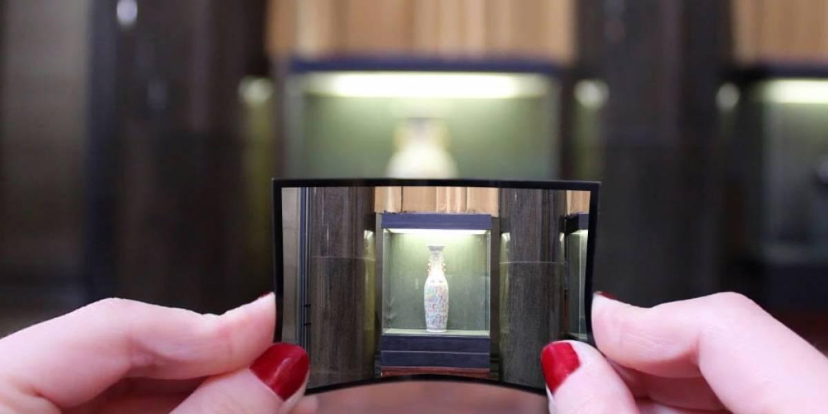 Universidad de Columbia crea una cámara flexible como hoja de papel