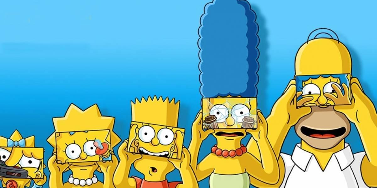 Los Simpson usan Realidad Virtual para celebrar su episodio 600