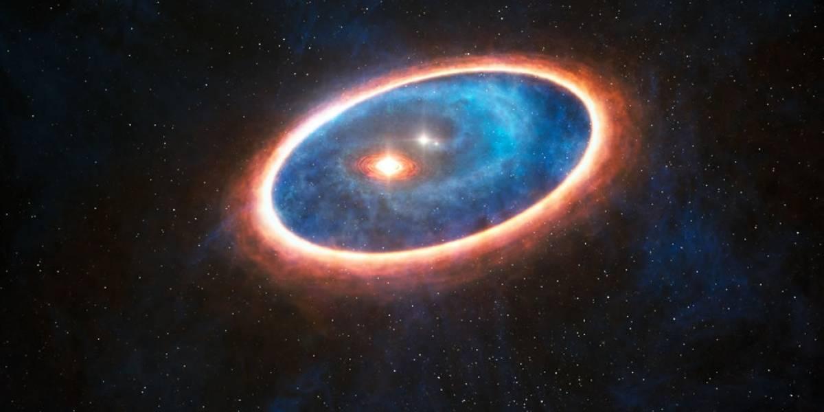 Astrónomos confirman que una estrella es capaz de doblar la luz de otro astro