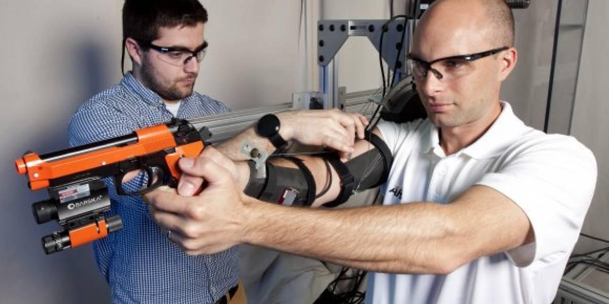 El Ejército de Estados Unidos está desarrollando un exoesqueleto para mejorar la puntería de sus soldados