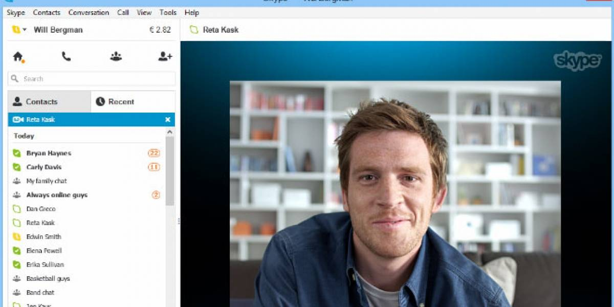 Skype integra los mensajes en video en sus clientes de escritorio y móviles