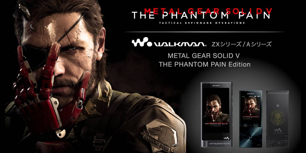 Sony anuncia Walkman conmemorativo de Metal Gear Solid V: The Phantom Pain