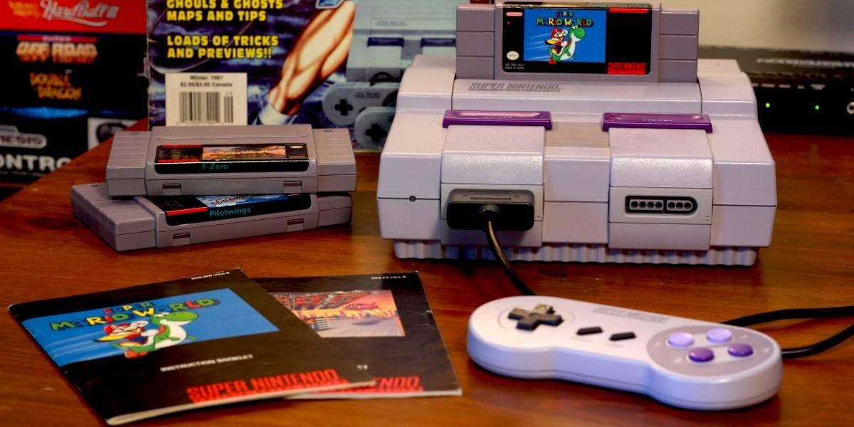 SNES Classic nos dejará jugar de nuevo al Super Nintendo este año