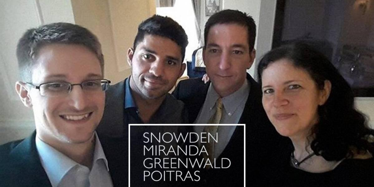 Edward Snowden, Greenwald y Poitras vuelven a encontrarse en Rusia