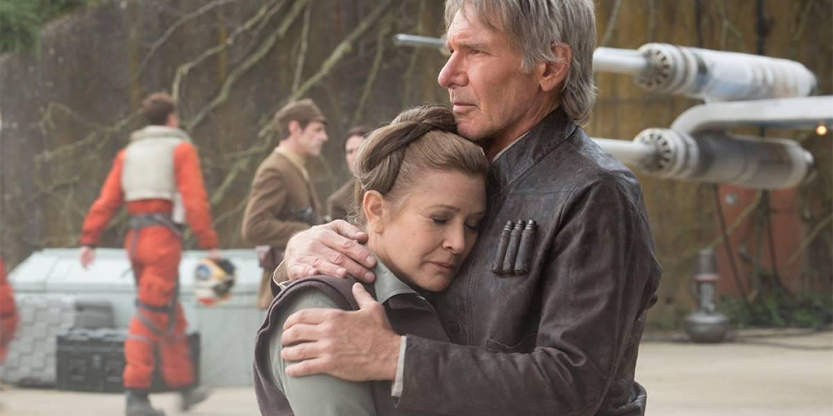 Carrie Fisher revela por qué Han Solo y Leia no siguen juntos en Star Wars