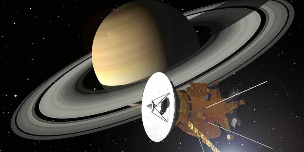 La sonda Cassini nos manda fotos del hemisferio norte de Saturno