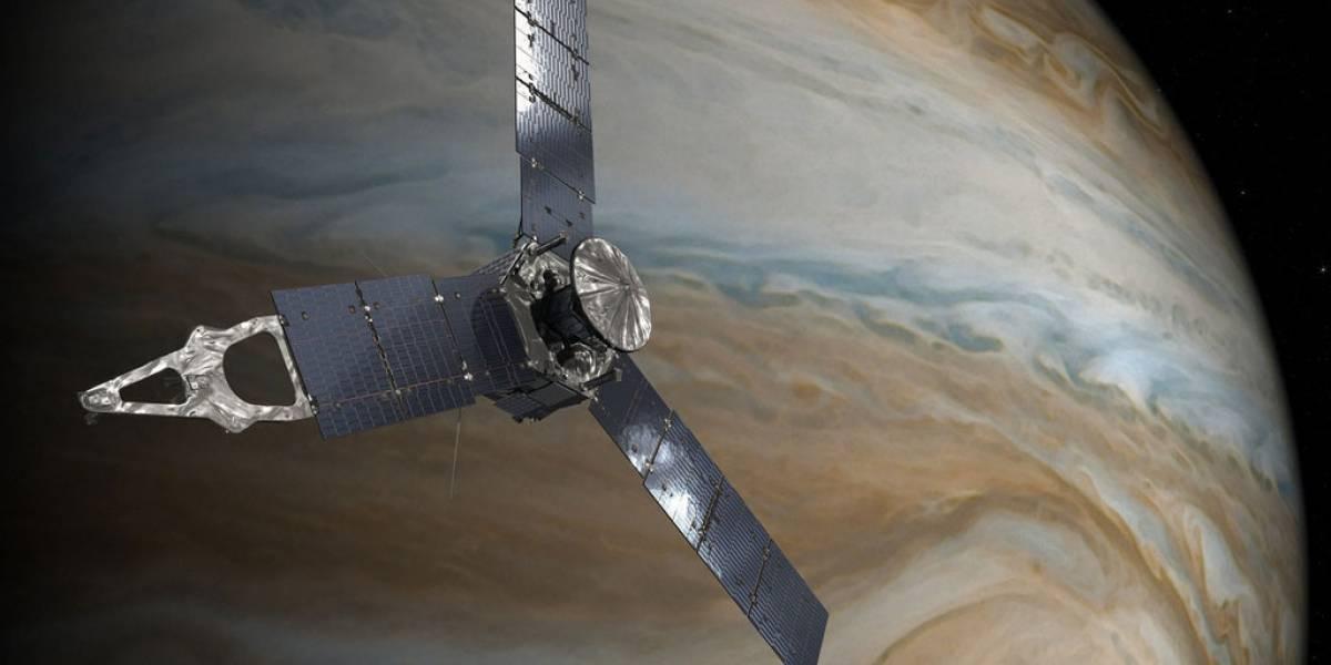 La sonda Juno está a punto de llegar a Júpiter