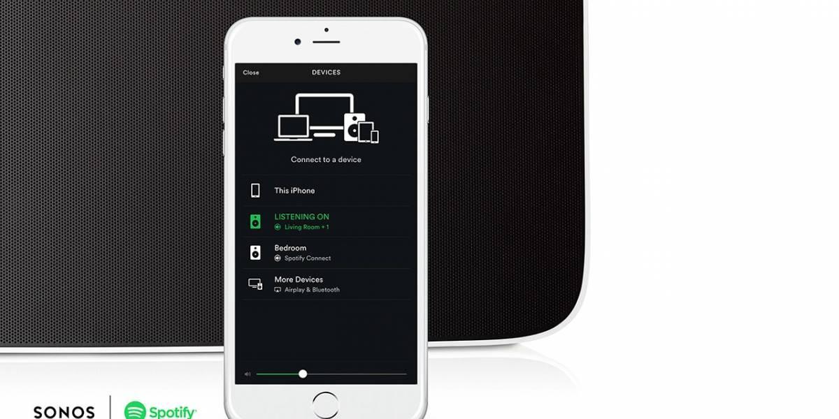 Sonos se alía con Amazon y Spotify para controlar su sistema de bocinas