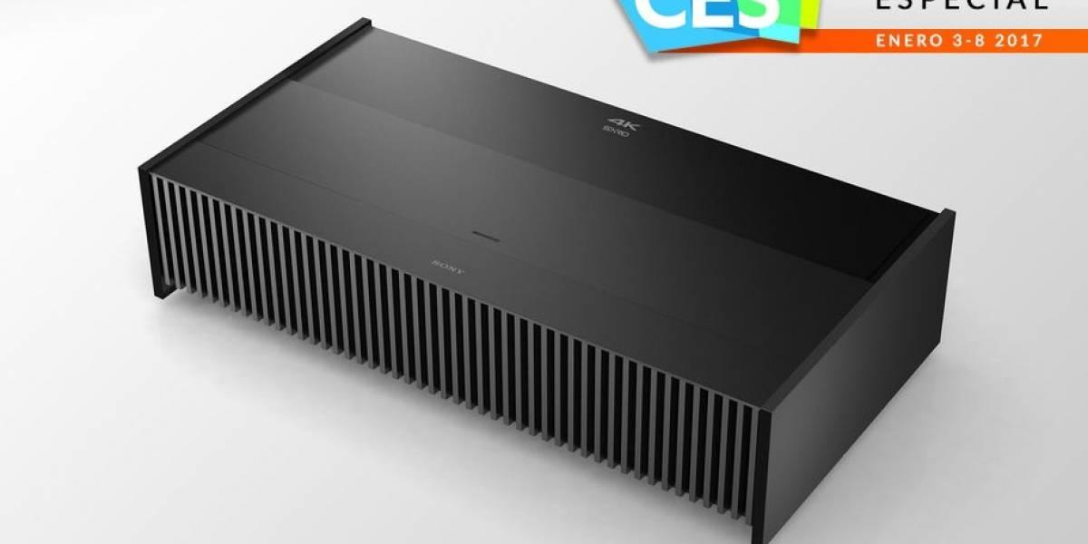 Sony lanza un poderoso proyector 4K en #CES2017