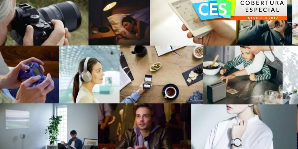 Cámaras, audio y video, la apuesta de Sony para el #CES2017