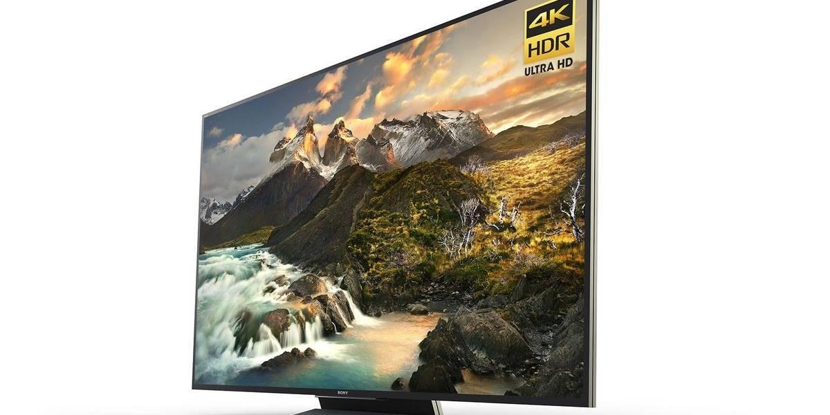 Sony presentó nuevas pantallas 4K con tecnología LCD