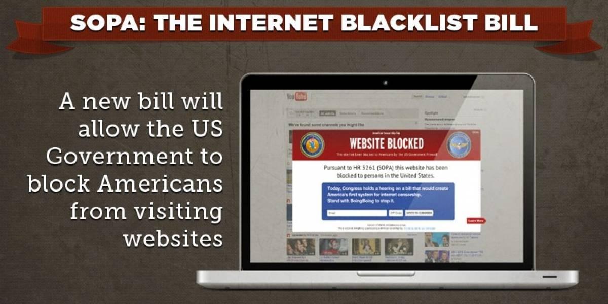 Alianza de empresas tecnológicas retiró su apoyo a la ley SOPA