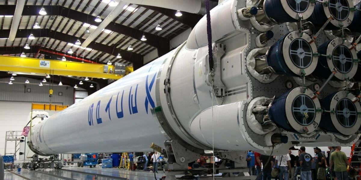SpaceX fue certificada para enviar satélites militares al espacio