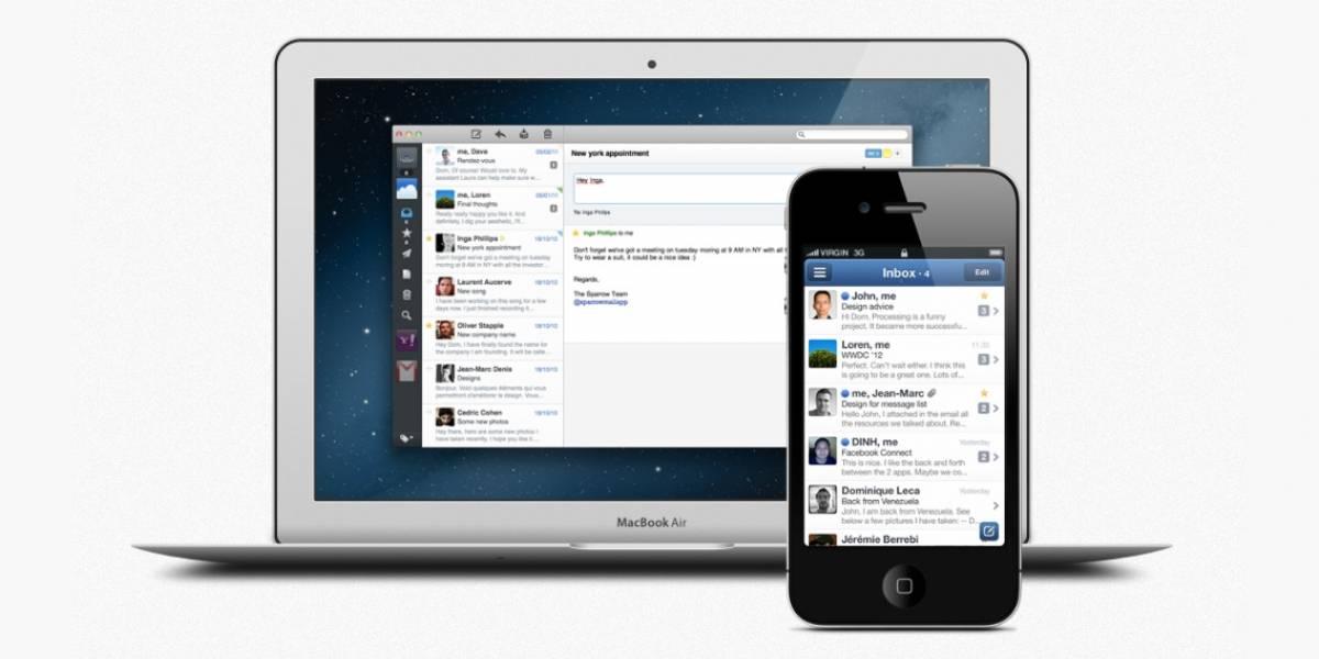 Google retira Sparrow para iOS y Mac, su mejor cliente de email
